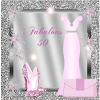 40TH FORTIETH PINK SILVER PERSONALISED BIRTHDAY PARTY BANNER BACKDROP BACKGROUND