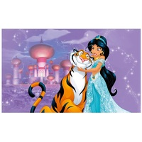 ALADDIN PRINCESS JASMINE PERSONALISED BIRTHDAY PARTY BANNER BACKDROP BACKGROUND