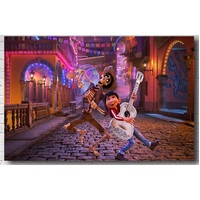 COCO AND THE LAND OF THE DEAD PERSONALISED BIRTHDAY PARTY BANNER BACKDROP BACKGROUND